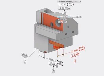 Model Based Definition 3D PDF Autodesk Inventor