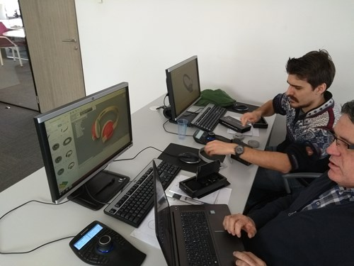 Fusion 360 CAD 3D-Print workshop Succes
