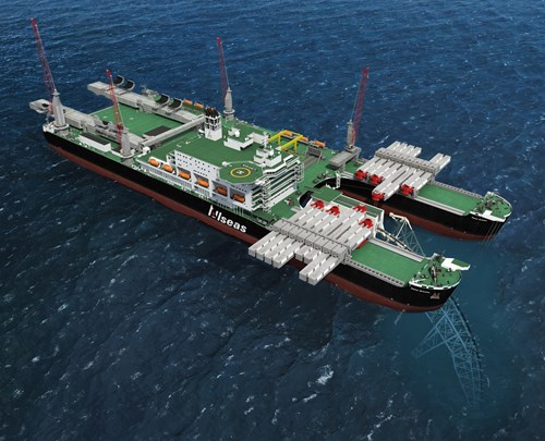 Allseas document control offshore projects