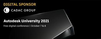 Autodesk University 2021 | 7 & 8 Oktober 2021