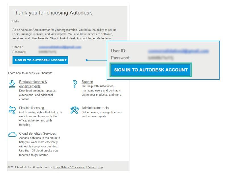 Autodesk subscription licence