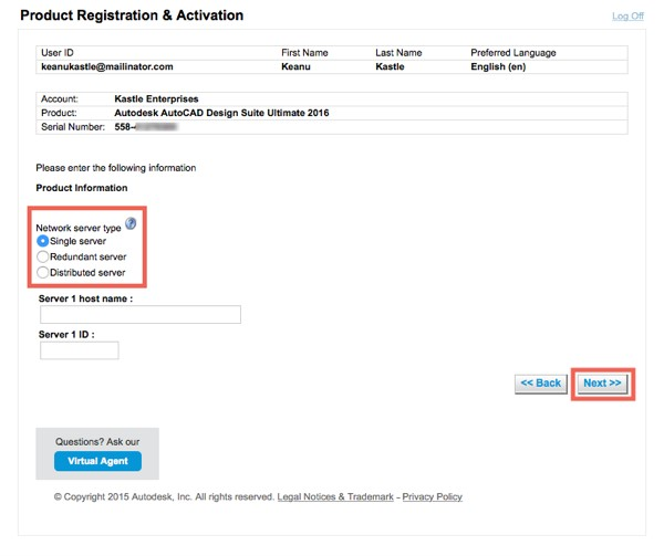 I want to create a licence file  - Cadac Store
